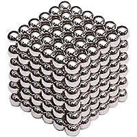 Microcase Neocube Manyetik Toplar Neodyum Sihirli Mıknatıs 5 mm 216 Adet Bilye - Gümüş
