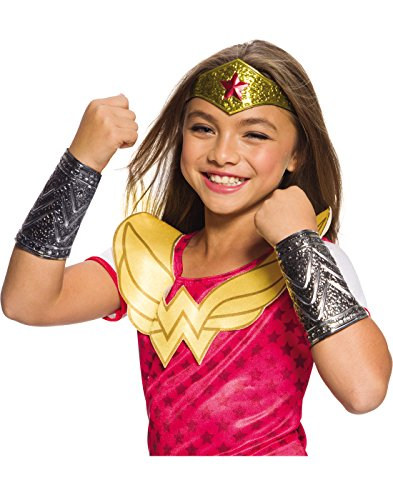 Rubies Costume DC Superhero Girls Wonder Woman Accessory Kit, One Size