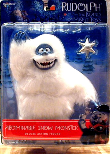 Rudolph and the Island of Misfit Toys Deluxe Figure - Abominable Snow Monster with Star