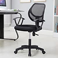 Topeakmart Ergonomic Mesh Back Executive Computer Desk Task Office Chair Black