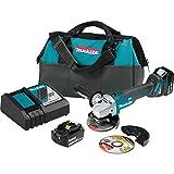 Makita XAG04T 18V LXT BL 4 12 5 Cut OffAngle Grinder Kit