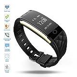 Fitness Tracker,DENISY Wireless Activity Trackers Smart Bracelet with Heart...