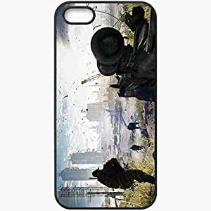 Personalized iPhone 5 5S Cell phone Case/Cover Skin Battlefield 4 Black by icecream design