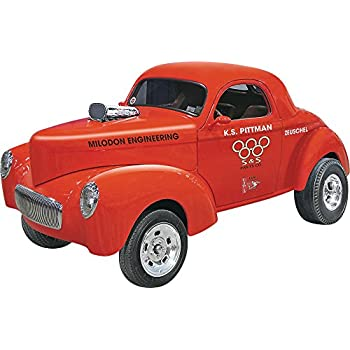 Amazon com: AMT 818 1940 Willy's Coupe/Pickup: Toys & Games