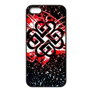 Gators Florida USA D7 Breaking Benjamin Print Black Case With Hard Shell Cover for Apple iPhone 5S