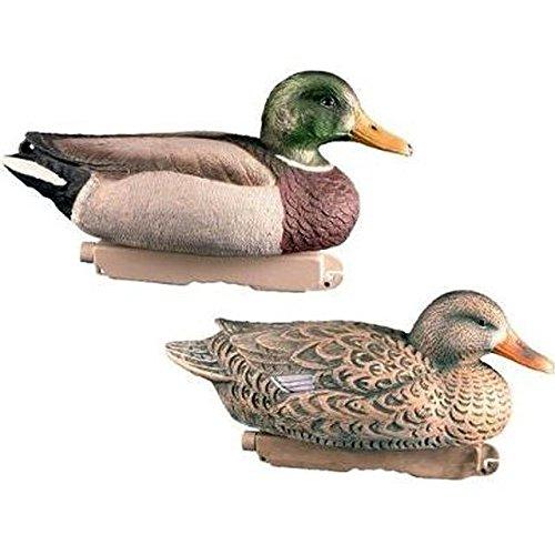 Final Approach Mallard Floating Duck Decoys, Pack of 12, Malard