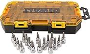 DEWALT Conjunto de soquete de acionamento, SAE/Metric, unidade de 3/8 polegadas, 17 peças (DWMT73806)