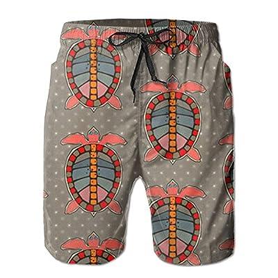 Nice OPDDBB Fashion Sea Turtle Board Shorts Swimwear Shorts With Pockets For Man for sale