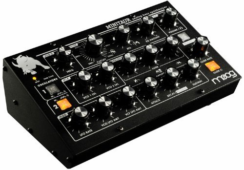 Moog Tbp002 Minitaur Bass Table Top Synthesizer   Black
