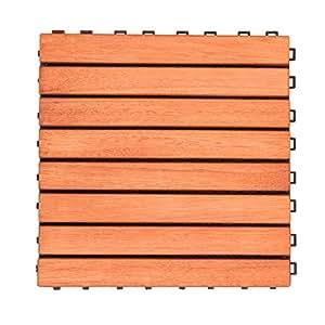 Amazon.com : Vifah V375 Eucalyptus Hardwood - 8 Straight