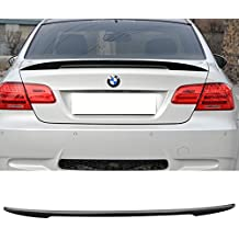 Trunk Spoiler Fits 2007-2013 BMW E92 3 Series | High Kick Performance Style Unpainted ABS by IKON MOTORSPORTS