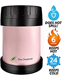 Small Thermos Food Jar Funtainer for Women, Men & Kids -...