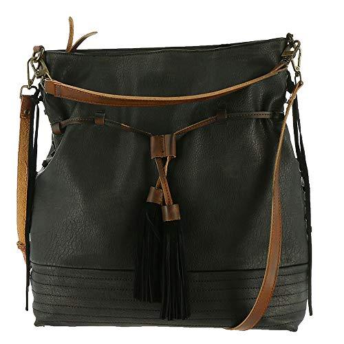 Moda Luxe Hazel Hobo Handbag (Black)