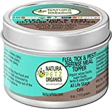 Natura Petz Organics Flea Tick & Pest Defense Meal Topper for Cats, 4 oz