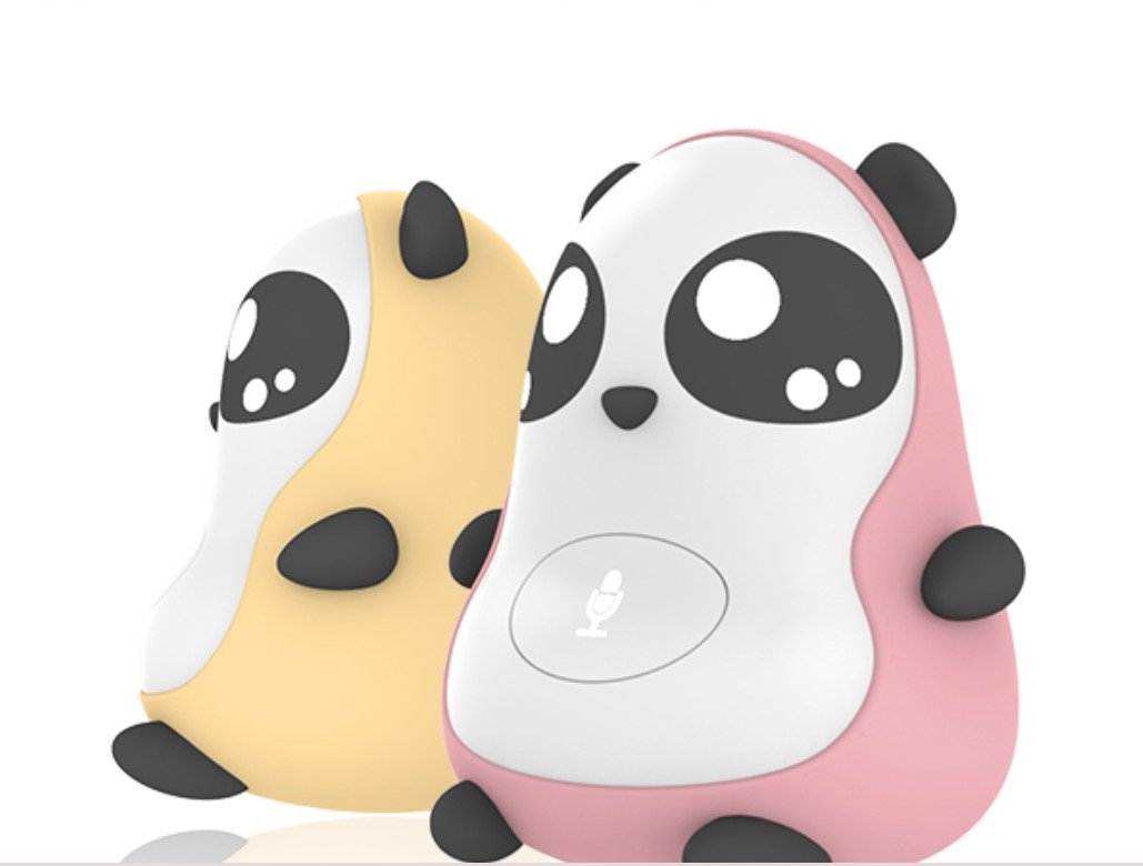 Robot Panda for Children (age 3-12), Intelligent Learning Companion, Smart Chatting, Voice Interaction, Media Play functions