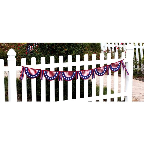 patriotic clothesline banner
