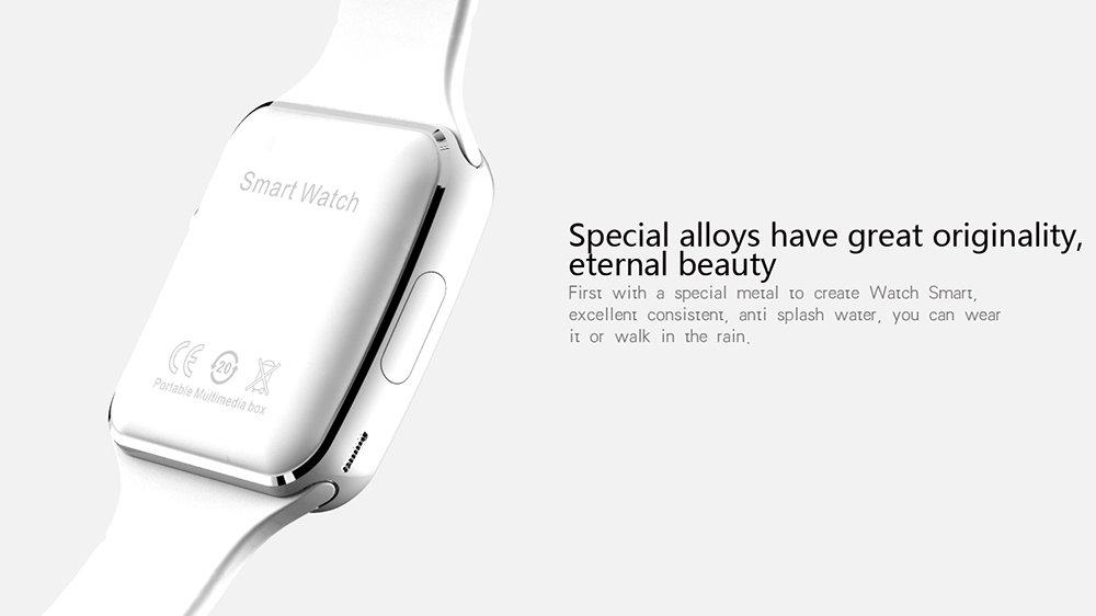Amazon.com: SZDLDT Excellent Bluetooth montre connecter android SIM reloj inteligente smart watch Gorgeous Bluetooth smartwatch (White): Cell Phones & ...