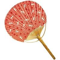 Japanese Traditional Hand Held Fan Wood Handle Hand Fan, No.2