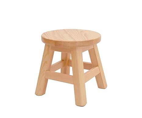 Prendi uno sgabello sgabello in pino sgabello in legno massello