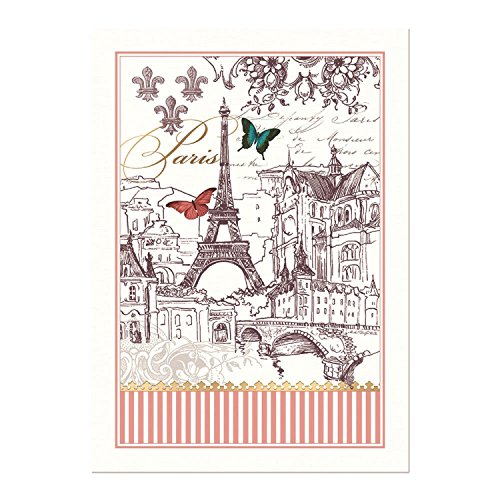 - Michel Design Works Cotton Kitchen Dish Towel, Toujours Paris