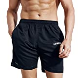 LUWELL PRO Men's 7' Running Shorts with Pockets Quick Dry Breathable Active Gym Shorts for Workout,Training,Jogging