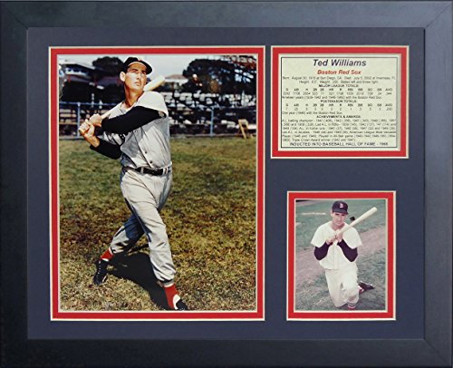 Legends Never Die Ted Williams Framed Photo Collage, 11 by 14-Inch (Merchandise Williams Ted)
