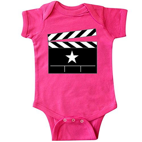 Inktastic - Director Movie Clapboard Infant Creeper 6 Months Hot Pink (Director Snap Board)