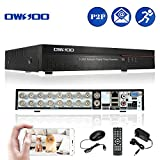 OWSOO 16 Channel DVR Full CIF H.264 P2P Network CCTV Security Phone Control Motion Detection Email Alarm for Surveillance Camera