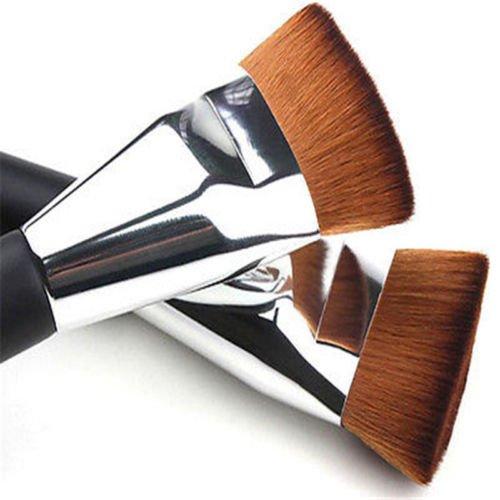 MAZIMARK--New Professional Flat Head Makeup Cosmetic Blush Contour Foundation Brush Tool