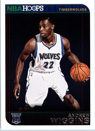 188643dd042ea 2014 /15 Panini NBA Hoops Basketball Rookie Card - 261 Andrew Wiggins -  Minnesota Timberwolves RC