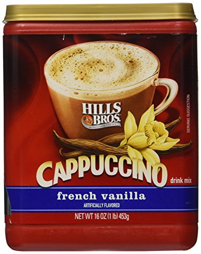 (Hills Bros French Vanilla Cappuccino Drink Mix 1LB 3-pack)