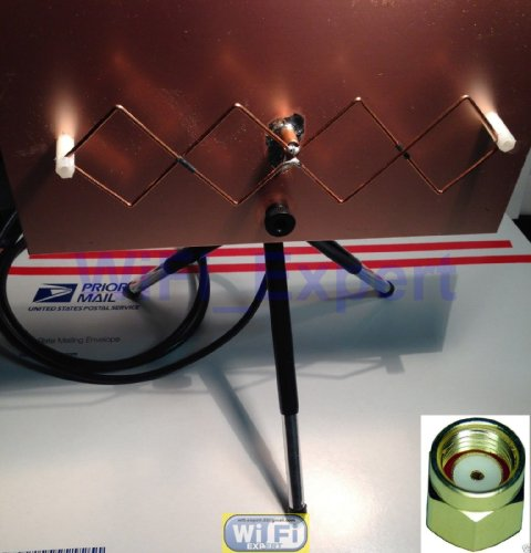 WIFI EXPERT – WiFi Antenna MACH 1 Double Biquad Wireless Booster Long Range GET FREE INTERNET, Best Gadgets