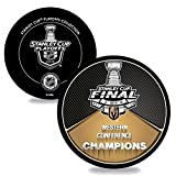 #3: Official Vegas Golden Knights 2018 Western Conference Champions Puck - Great Collector's Item & Gift