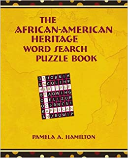 !VERIFIED! The African-American Heritage Word Search Puzzle Book. Oktober tecnica expire Garbage Alameda glasgow