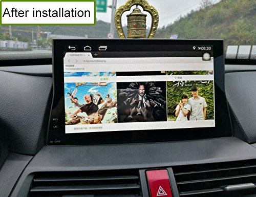 2008 2009 2010 2011 2012 2013 Nunoo 10.1 Inch Android7.1 Car Stereo Multimedia Video Player GPS Navigation System Radio 2+32GB HD Touch Screen Bluetooth USB 1080P for Honda Accord