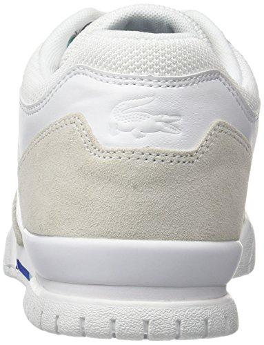 Lacoste Missouri G 117 2, Bajos Hombre Blanco (Blanc)