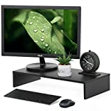 ITUEYES Computer monitor riser 21.3 inch Monitor Stand with keyboard Storage Space, DT105401WB