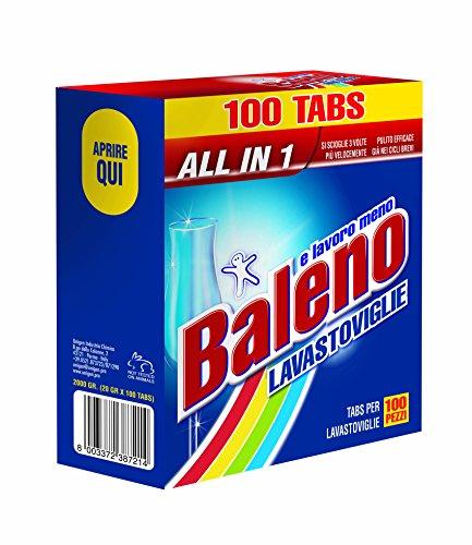 BALENO E LAVORO MENO Tabs per lavastoviglie PEZZI 200 - Set da 2 ...
