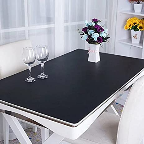 PVC Tablecloths WaterProof Table Cover Texture Desk Pad Computer Desk Pad   Thickness 3.5mm