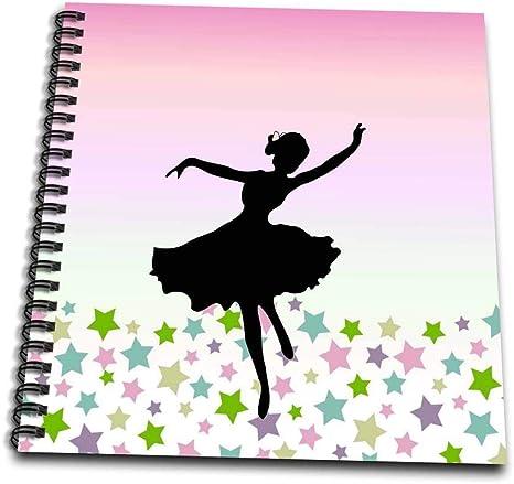 3dRose Spinning Ballet Dancer Dancing Entre Las Estrellas diseño ...