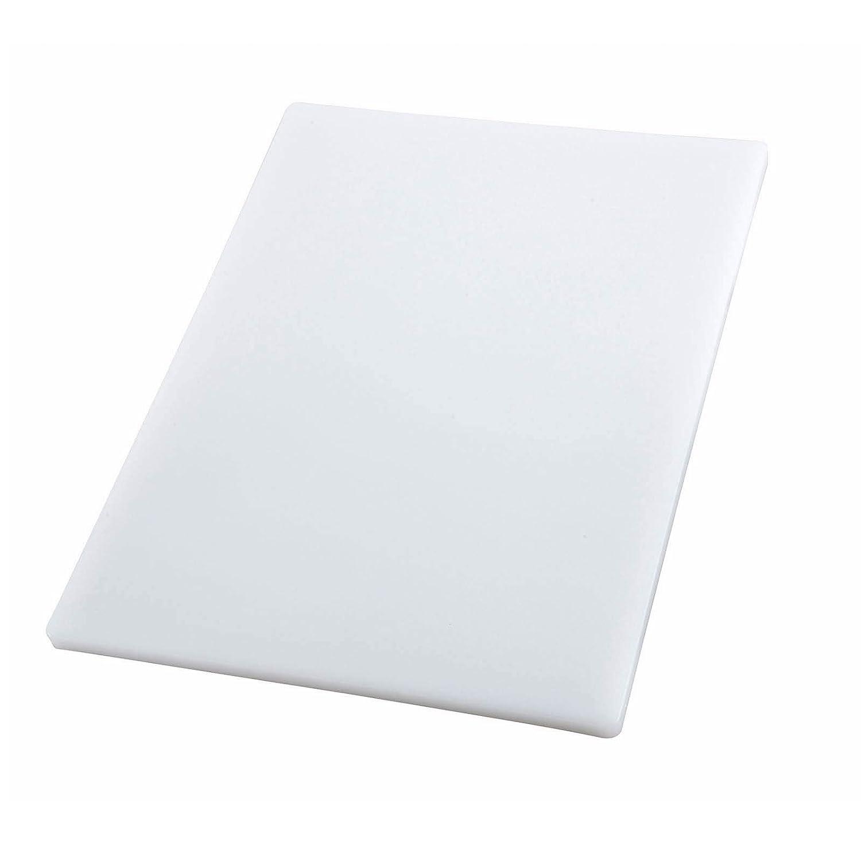 Winco CBH-1824 Cutting Board, 18-Inch by 24-Inch by 3/4-Inch, White