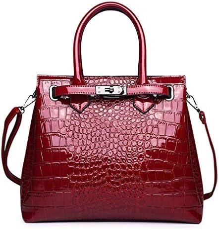 婦人用バッグヨーロッパおよびアメリカのファッション、大型バッグ、大容量の肩掛け、ハンドバッグ、赤、30 * 25 * 12 Cm 美しいファッション