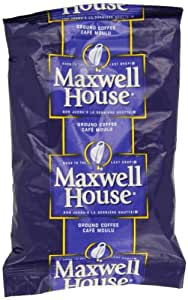 Maxwell House Ground Coffee, 7-Ounce Packages (Pack of 5)