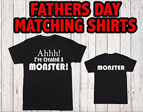 Amazon Ive Created A Monster Father Son Matching Shirts