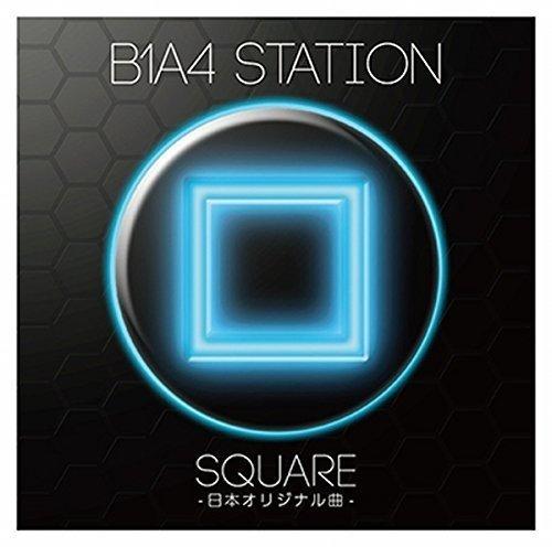 CD : B1A4 - B1a4 Station (square) (Japan - Import)