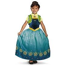 Anna Frozen Fever Deluxe Costume for Kids
