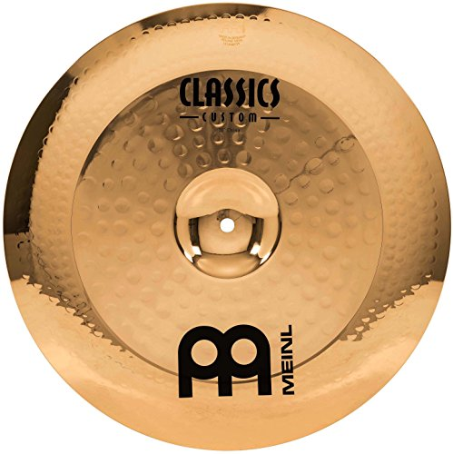 "Meinl 16"" China Cymbal - Classics Custom Brilliant - Made In Germany, 2-YEAR WARRANTY (CC16CH-B)"