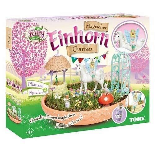 Magischer Einhorn-Garten für Kinder