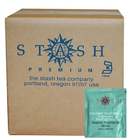 Stash Tea Mellow Moments Herbal Tea, bolsas de té en papel ...
