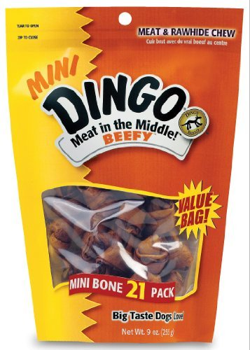 Dingo Meat In The Middle Dog Rawhide Chew Treat